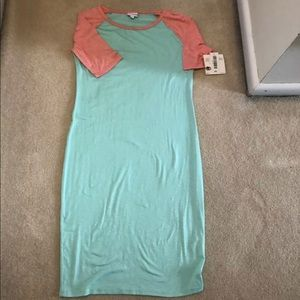 LulaRoe Julia Dress size Medium NWT